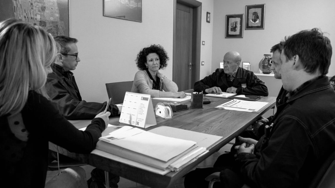 memstampaggio team meeting